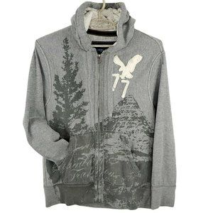American Eagle Outfitters Men's Vintage Fit Print Front Hoodie Size XL